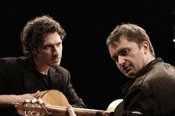Konzert mit dem Gitarrenduo Kalkan mit Erkin Cavus und Reentko Dirks buchen